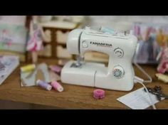 How to make miniature sewing machine - YouTube