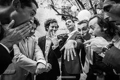 Photographe Mariage Toulouse, France, Monde // Florent Cattelain Château Las Collas Thuir - Photos groupe bestmen - #weddingphotographer #photographemariage