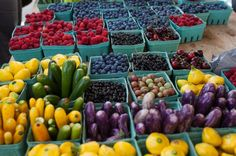 Support your local farmers by visiting a farmers' market. Farmers' markets exist worldwide and are a great place to take your kids to reflect on the local culture and economy. It's also a great place to get fresh, flavorful produce.