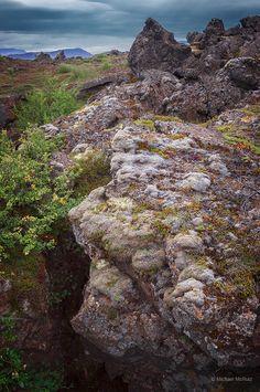 Landscape near Myvatn, Iceland
