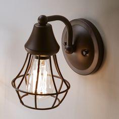 Kichler Lighting Bayley 1 Light Olde Bronze Arm Hardwired Wall