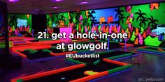 21. get a hole-in-one at glowgolf.