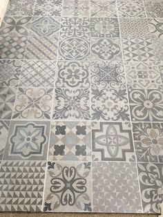 Skyros Delft Grey Wall and Floor Tile - Wall Tiles from Tile Mountain Morrocan Floor Tiles, Bathroom Floor Tiles, Wall And Floor Tiles, Attic Bathroom, Family Bathroom, Small Bathroom, Bathroom Ideas, Hall Tiles, Tiled Hallway