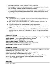 Building Maintenance Resume Example - http://resumesdesign.com/building-maintenance-resume-example/