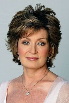 Short Hairstyles For Mature Women by may