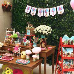Masha and the bear Party   decoração festacleanchic.com  pães de mel Patisserie des Arts  fotografia Laboratório de Midia