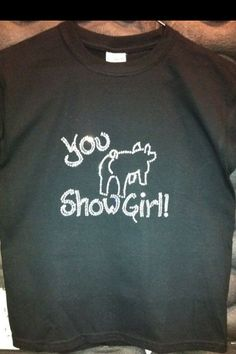 you show girl!