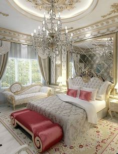 25 Awesome And Luxury Bedroom Design Ideas — Home Decor Ideas Luxury Bedroom Design, Master Bedroom Design, Luxury Interior, Interior Design, Master Bedrooms, Dream Rooms, Dream Bedroom, Home Bedroom, Bedroom Decor