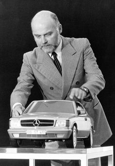 Bruno Sacco - Mercedes-Benz Chief of Styling.