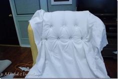 Addicted 2 Decorating » Removing Some Of The Mystery From Upholstery and Button-Tufting