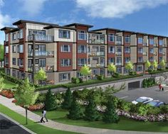 The craftsman boutique Edgebrook Abbotsford condos for sale are brought to the market by Amacon Homes development builder.