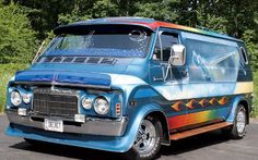 Classic Custom Vans | Custom Vans Chevy Van Photo 1