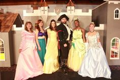 aye the pirate with our princesses