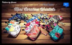 Mini Coralines - print pattern at 80% all by Laura Mins.