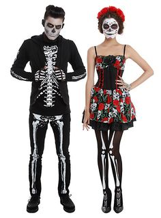 Hot Topic Day of the Dead costume