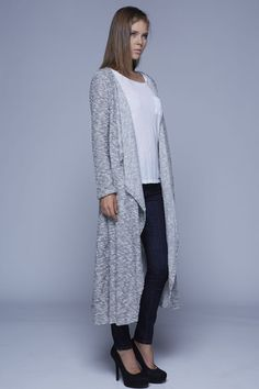 4. Rick Owens Lilies Draped Extra Long Cardigan   My Style ...