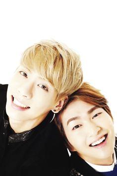 SHINee Jonghyun and Onew