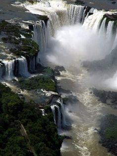 Iguazu Falls, Argentina, Brazil, Paragua