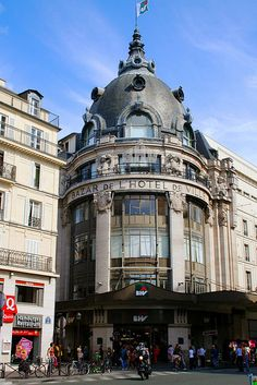 Paris, France - BHV, famous home goods store. Downstairs in hardware -- metal plaques. BHV = Bazaar de l'Hotel de Ville, a department store right across rue de Rivoli from Hotel de Ville (townhall). Great shopping place.