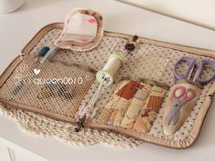 Sewing or quilting case