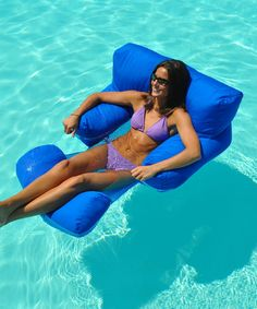 Love this Comfort Pool Lounger on #zulily! #zulilyfinds