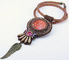Náhrdelníky - Indiánske pierko - 5067410_