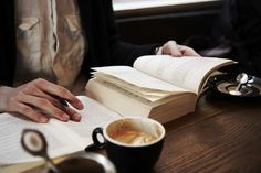 She spent her days reading and writing in the coffee shop down the street and little did she know she was beginning her journey towards becoming the greatest author