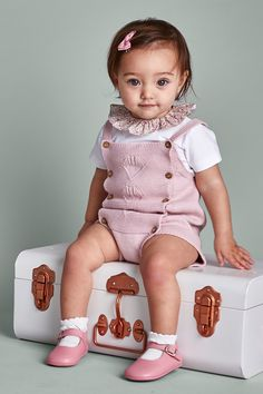 420f4618295f Baby Girl Fashion - Traditional Baby Girl's Clothing Knitted Romper, Baby  Girl Fashion, Kids