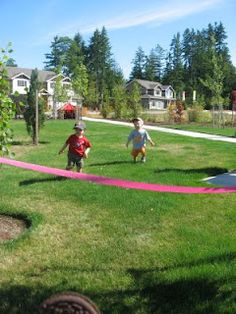 Mini Olympics!  Will do at Golden Eagle for playgroup :D
