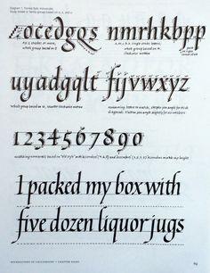 Three Ways to Improve Your Italic Calligraphy — Type Thursday — Medium