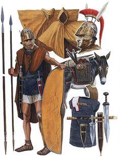 hird-Line Legionary, Triarius