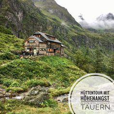 Mit Höhenangst (und der Familie) auf Hüttentour in den Schladminger Tauern. Cabin, Mountains, House Styles, Nature, Travel, Travel Scrapbook, Travel Advice, Adventure, Destinations