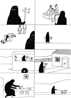 Shrigley - 'Even executioners have to go home & walk their dog' ;-p