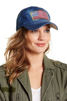 online store 472e5 cc758 American Flag Patch Baseball Cap American Flag Patch, Women s Accessories,  Flag Patches, Baseball