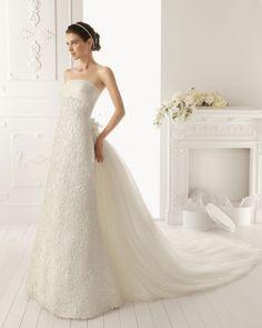 ウェディングドレス スレンダー ビスチェ チャペルトレーン 取り外し可能なトレーン 2wayドレス サイズオーダー 挙式 ブライダル 結婚式 h4ai0091