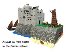 Assault in Pike Castle   by Lego Admiral