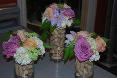 For a Rustic/Wine theme Wedding. www.europeanpetals.com
