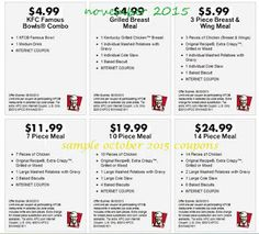 Printable Coupons: Kfc Coupons uploaded by jessabellefloyd Mcdonalds Coupons, Kfc Coupons, Grocery Coupons, Great Clips Coupons, Love Coupons, Kfc Printable Coupons, Free Printables, Coupons For Boyfriend, Kentucky Fried