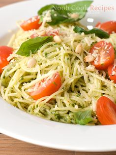 "Pesto Pasta, My Gourmet ""Instant Noodles"" I want to learn this dish"