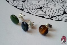 Gemstone Earrings  More pictures and details: http://blitheproject.hu/2015/11/20/asvany-bedugos-fulbevalok/ My website: http://blitheproject.hu/ Facebook: https://www.facebook.com/blitheproject