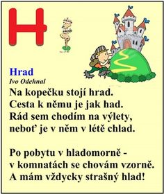 ABECEDA PÍSMENO H Christmas Activities, Czech Republic, Language, Parenting, Writing, Education, Children, School, History