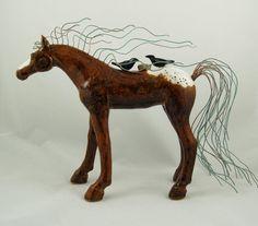 Appaloosa Shelter Horse by Michelle MacKenzie