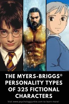 Ever wondered which fictional characters have your personality type? Take a look in this expansive list of over 300 characters! #MBTI #Personality #INFJ #INTJ Psychology Memes, Psychology Student, Infj Personality, Intj Characters, Infp Quotes, Mental Health Journal, Funny P, Myers Briggs Personalities