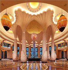 Awesome Atlantis Bridge Suite Lobby Designs.