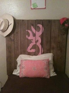 Simple Bed idea for a country cutie (:
