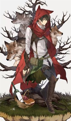 Ideas For Drawing Wolf Girl Guys Hot Anime Boy, Cute Anime Guys, Wolf Boy Anime, Pet Anime, Anime Animals, Anime Art, Manga Boy, Lobo Anime, Animation