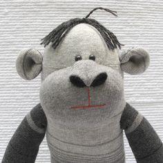 images about Sock Monkey & Friends on Pinterest | Sock monkeys, Sock ...