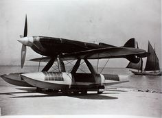 Macchi M.C.72 by San Diego Air Space Museum Archives, via Flickr