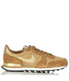 c5195c81 Nike Internationalist en cuir et toile ALE BROWN/METALLIC GOLD by NIKE