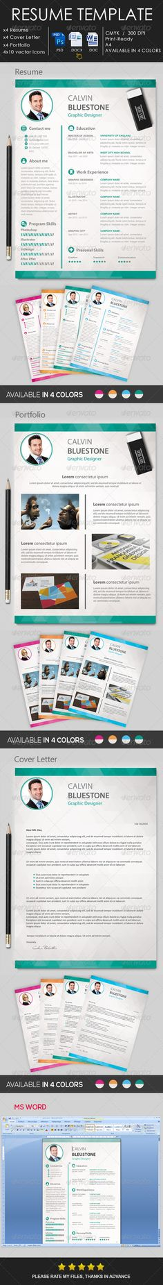 Simple Resume\/Cv Bundle Volume 2 Simple, Resume and Stationery - television producer resume